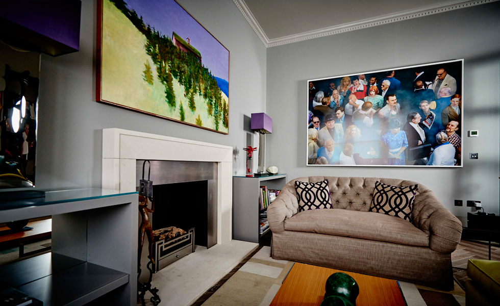 Some of their artwork is extremely heavy so Gyproc Habito plasterboard was the ideal solution