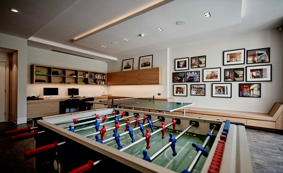 The family wanted to create a hub for their four teenage children and friends to congregate and socialise in
