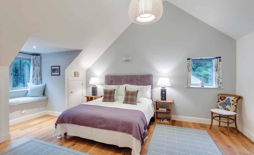 Classic master bedroom suite