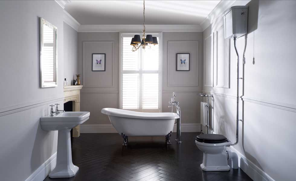 Claremont slipper bath