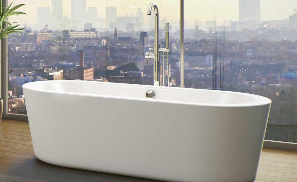 Orchard Wharfe bathtub Victoria Plum
