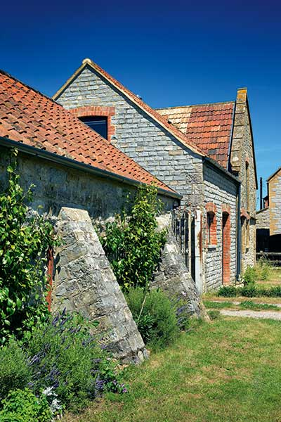 Grade II listed stone barn conversion