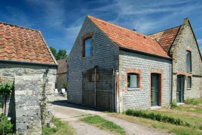 Grade II listed stone barn conversion