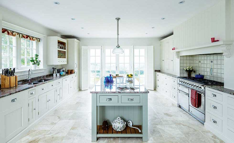New England shaker style kitchen