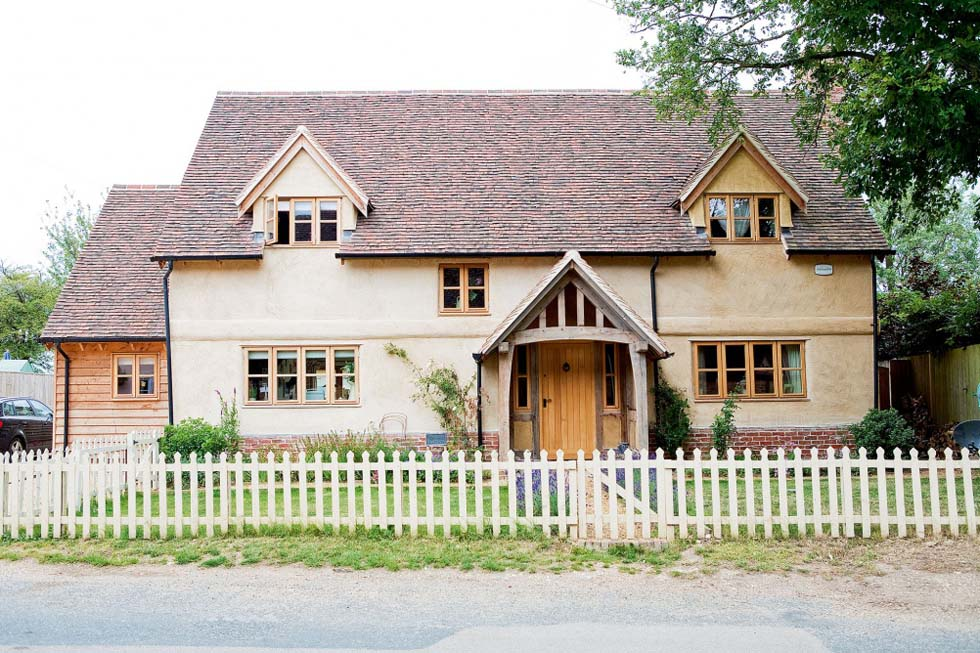 Charming oak frame and SIPs cottage