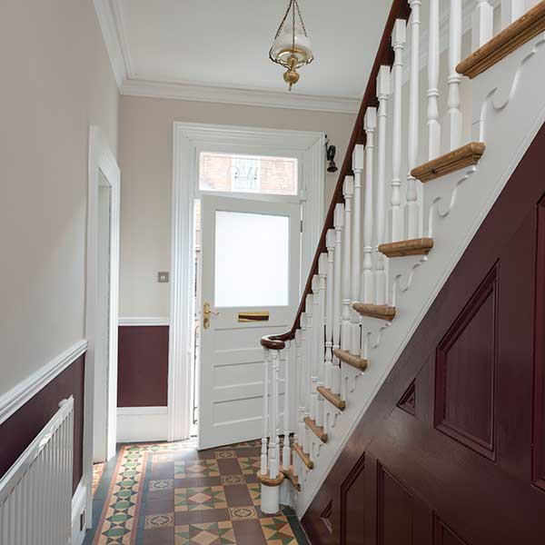 Original Victorian staircase