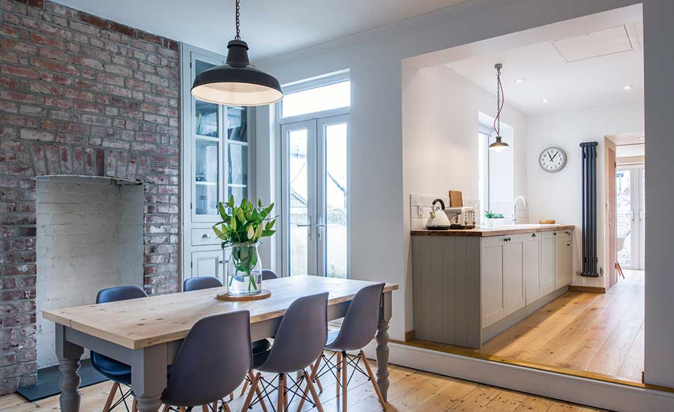 A DIY renovation of a terraced home on a budget