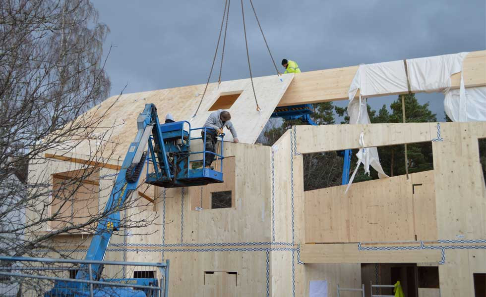 What is Cross Laminated Timber (CLT)? | Homebuilding & Renovating