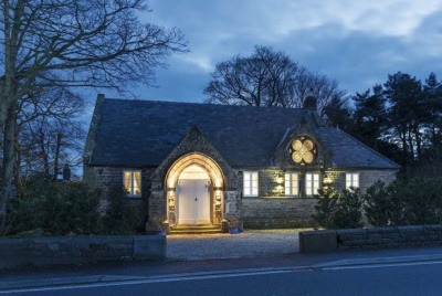 This church has been converted on a DIY basis into a characterful home