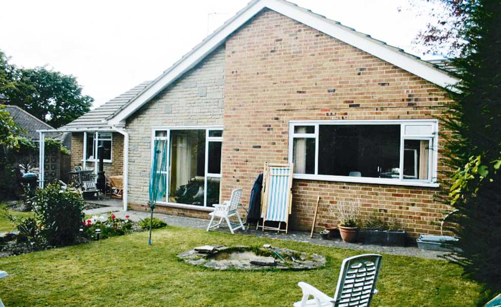 1950s bungalow in need of modernisation