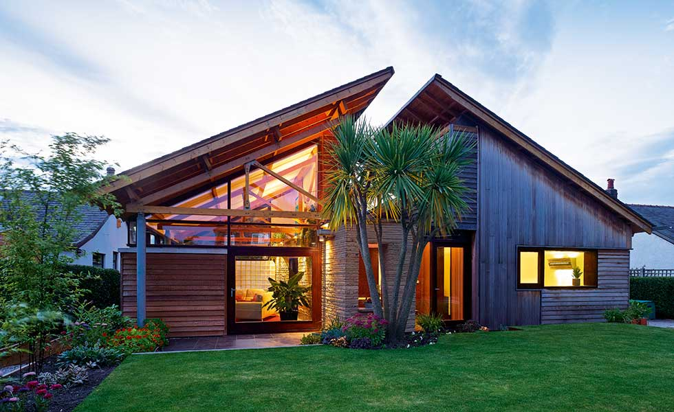 Timber clad contemporary bungalow remodel