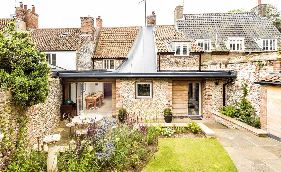 Twisted Roof Design On Extension To Grade II Listed Cottage