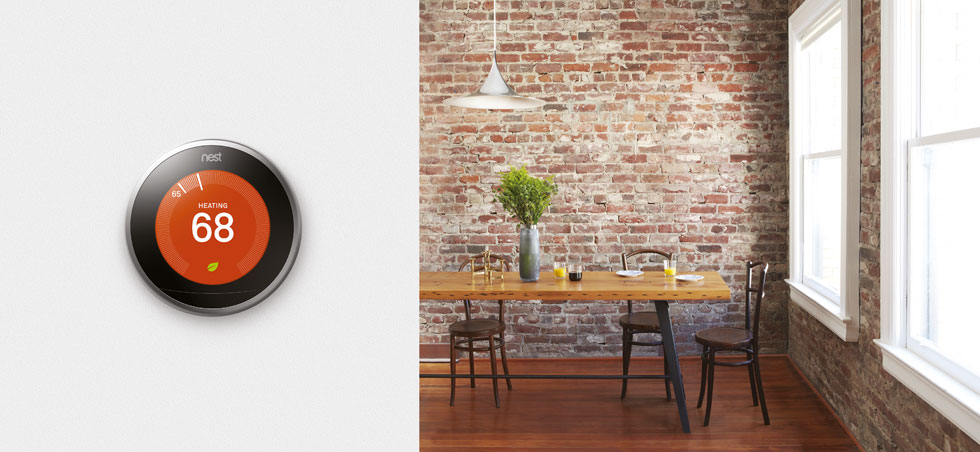 Nest Learning Thermostat - Smart Home Tech
