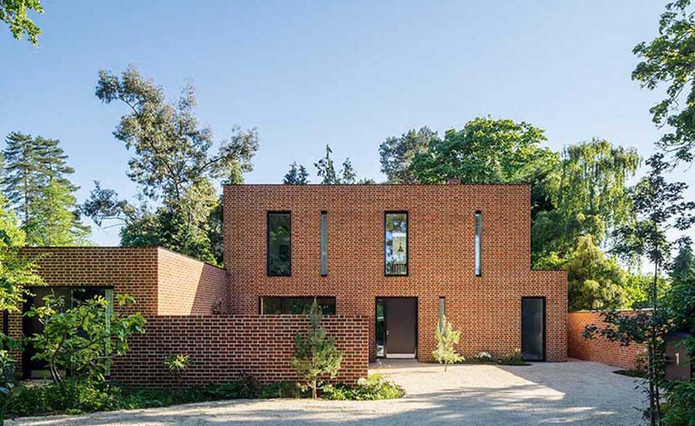 front-exterior-of-brick-clad-contemporary-self-build