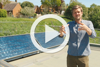 Charlie Luxton on harnessing solar energy in his self build