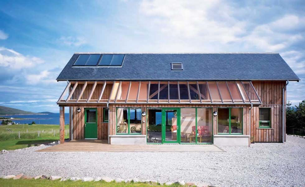 Sustainable timber home