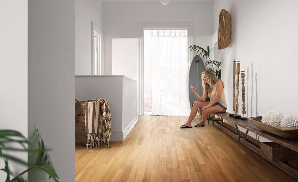 bright Wooden floors