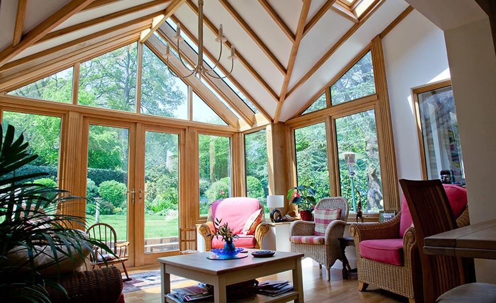 richmond oak garden room