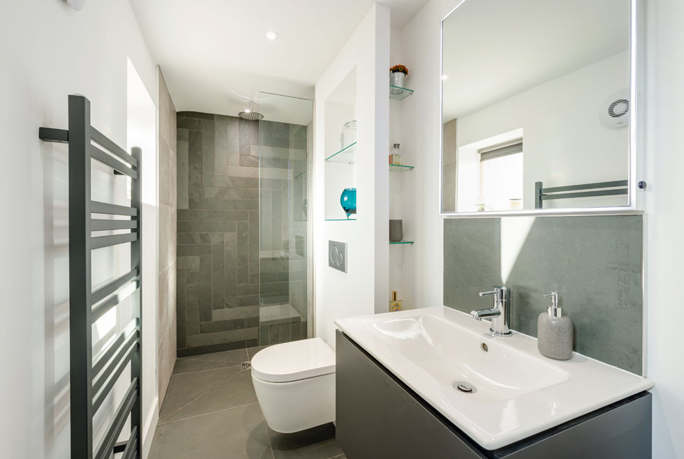 Contemporary luxury shower room