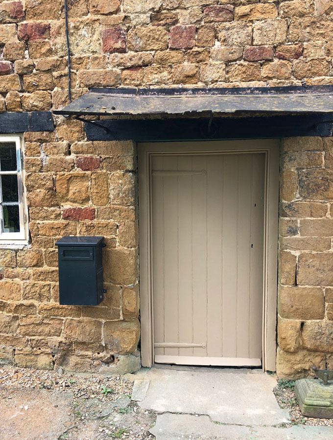 renovated door cottage