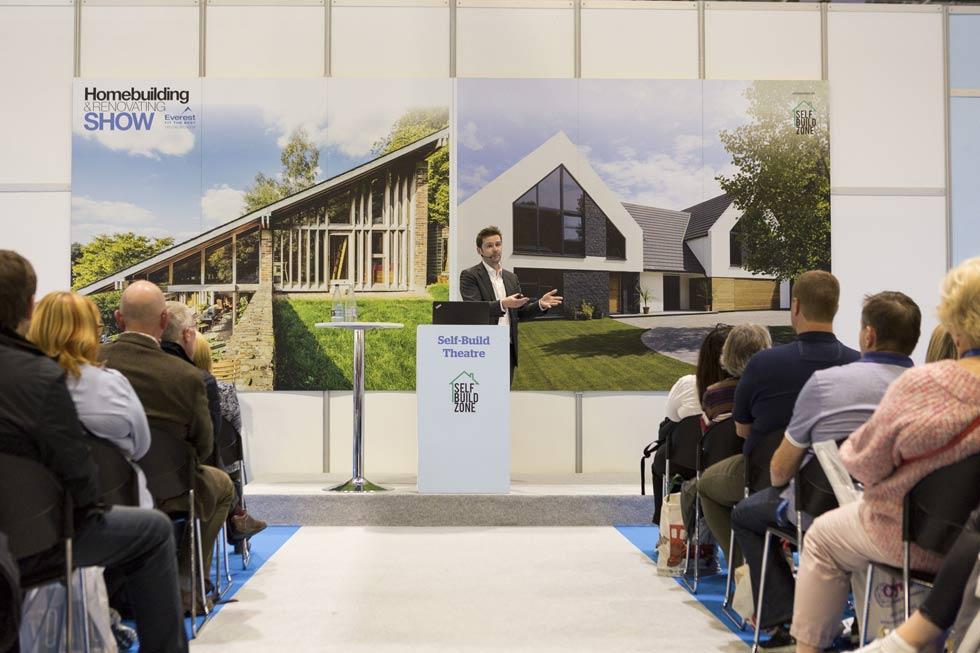 Jason Orme seminar at the Homebuilding & Renovating Show