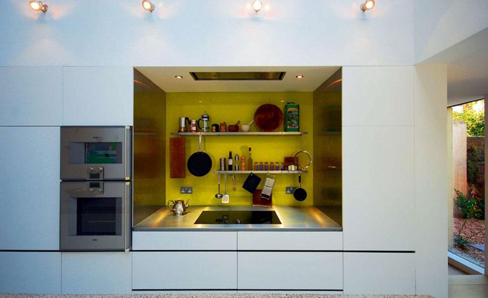 spotlights in kitchen contemporary