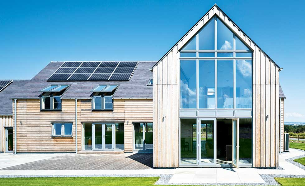 This timber-clad self build is so energy efficient it actually generates more money than it costs to heat and power