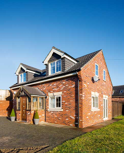 This ICF self build was finished on a budget, with the homeowner tripling his money