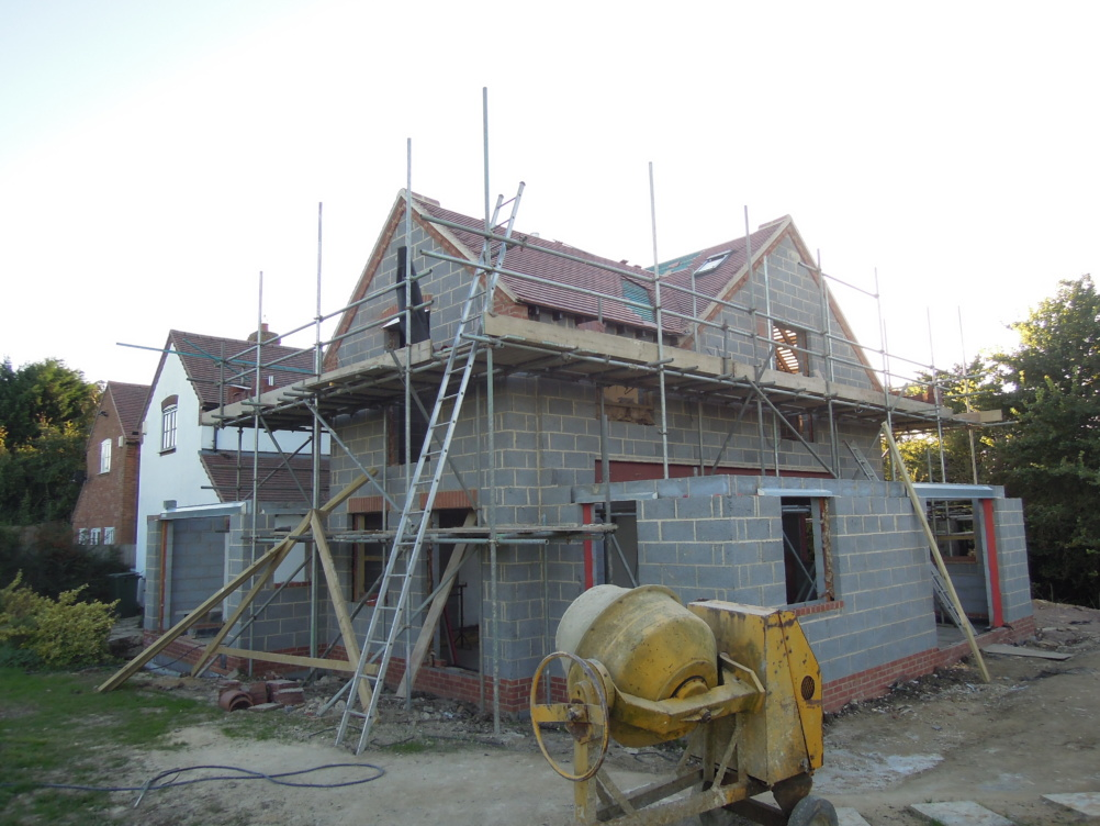 scaffolding on extension