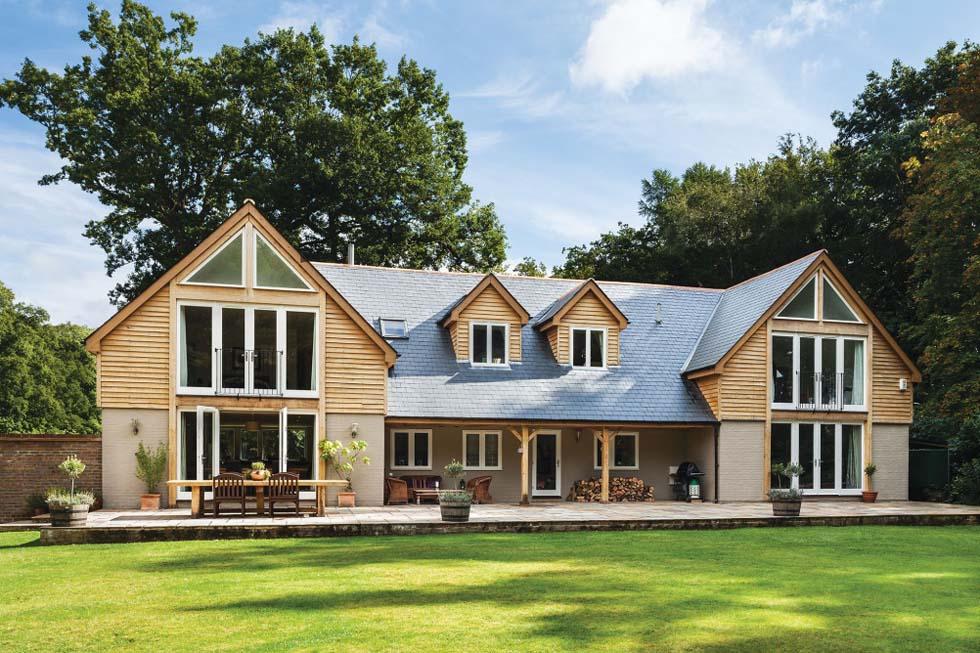 oak clad bungalow remodel