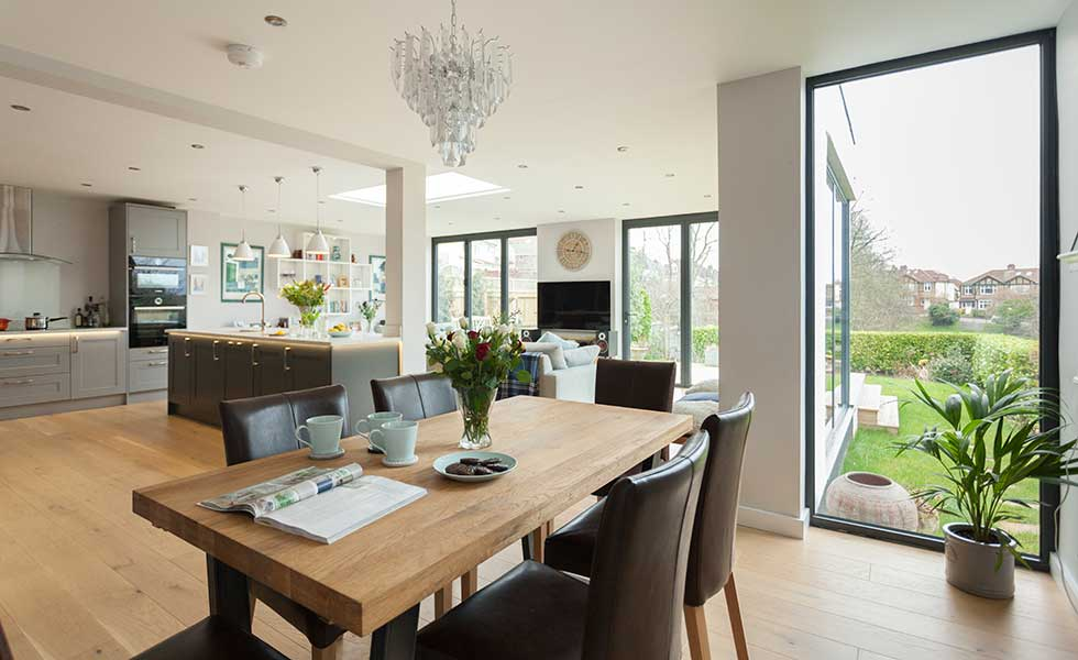 open-plan-kitchen-diner-in-new-extension-and-with-views-of-the-garden