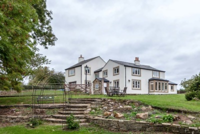 Clever us of render to highlight windows and doors on traditional style property