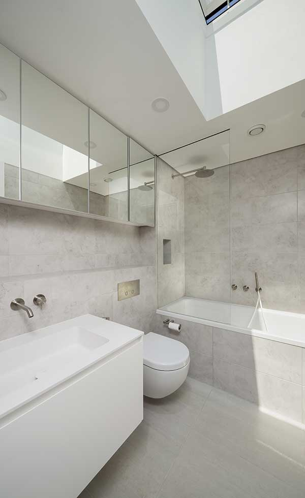 London Passivhaus bathroom