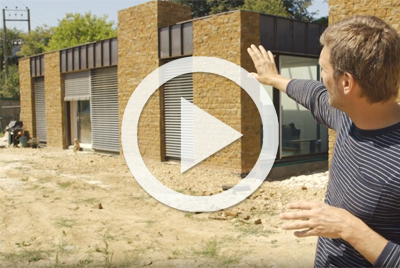 Charlie Luxton on his self build exterior