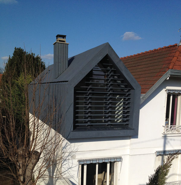 Charred timber can help to add some architectural interest to your home