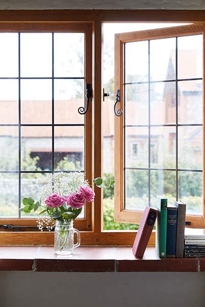 Period leaded light windows