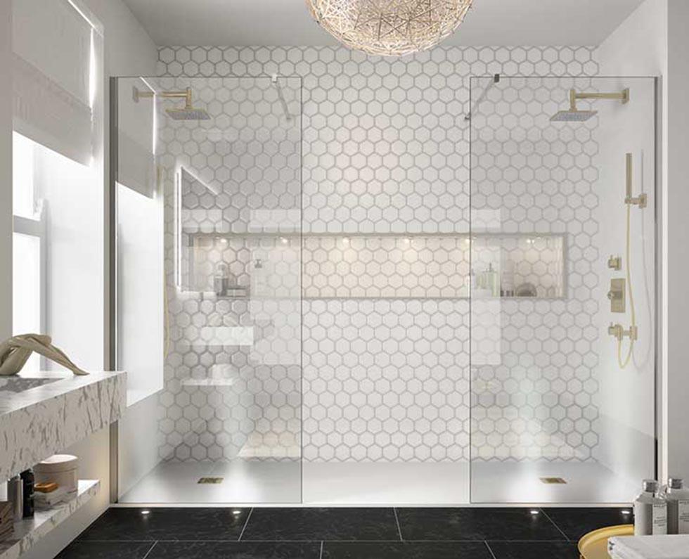 Twin Shower Panels