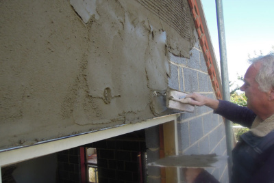 applying render to extension exterior