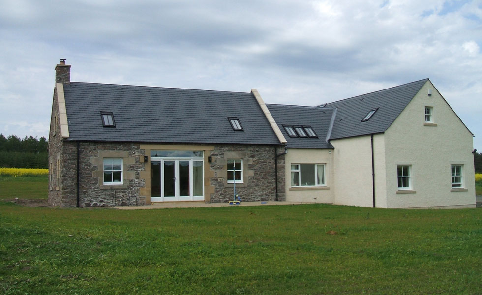 ICF extension to a traditional cottage