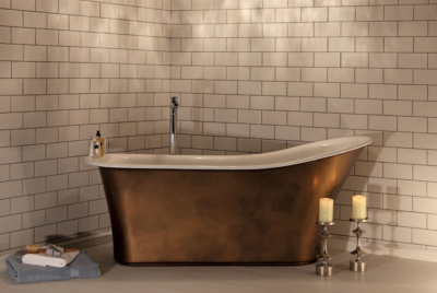 Montefresco bathtub from Albion Bath Company