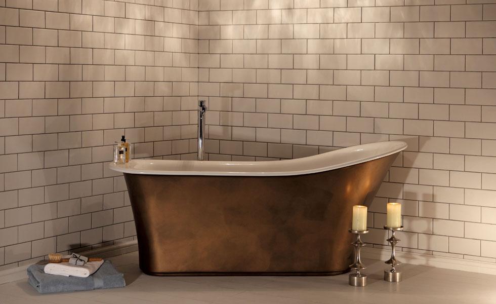 Montefresco bathtub from Albion Bath Company