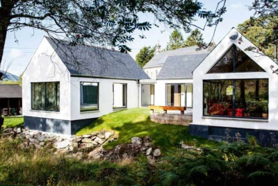 Budget handcrafted home in Scottish Highlands