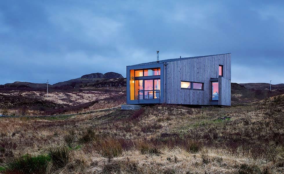 Cutting-edge eco home on Isle of Skye