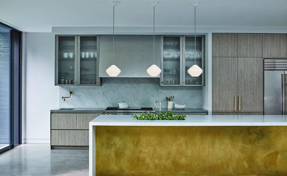 Kitchen extension lighting