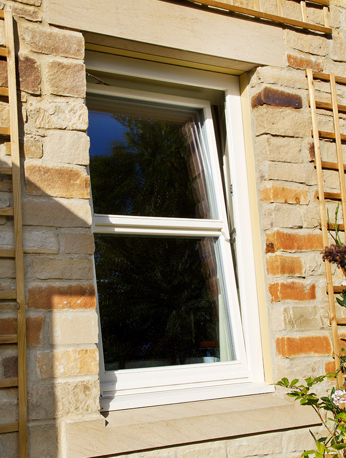 mock sliding sash window