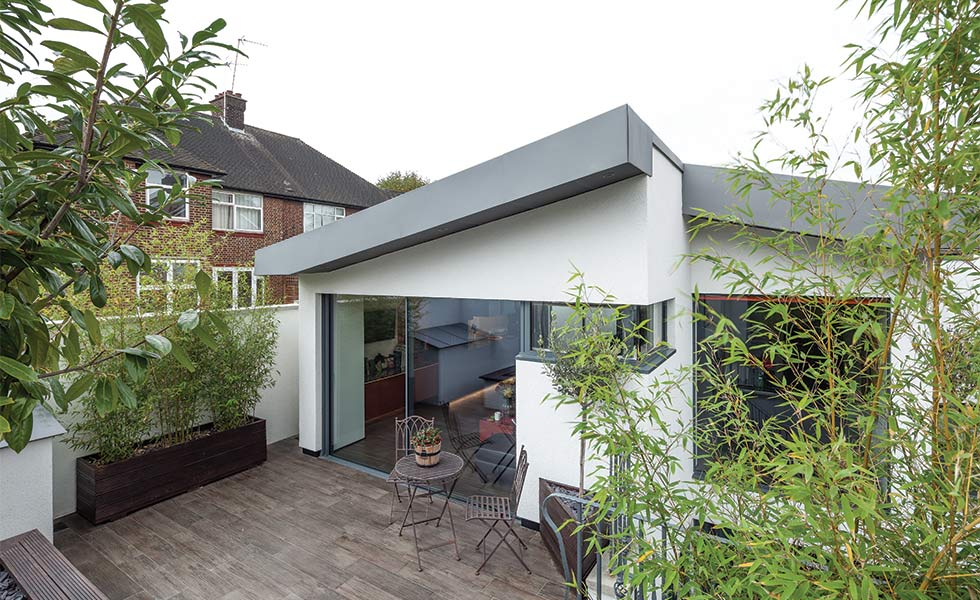 Contemporary accessible home