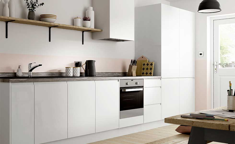 Contemporary budget kitchen