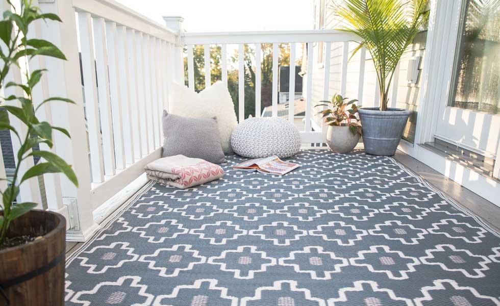 outdoor rug from cuckooland