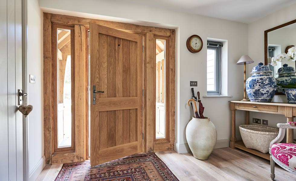 oak frame front door