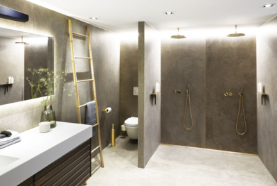 Unidrain floor drain system for wetrooms